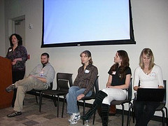 Karen, myself, Anne-Marie, Talia, Meredith from the panel. Rick and Vanessa are out of frame.