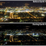 Earth Hour goes darkly this Saturday night