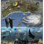 Interactive mosaic of the Gulf of Mexico