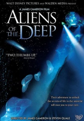 "James Cameron's Aliens of the Deep: ""The search for life beyond begins below."""
