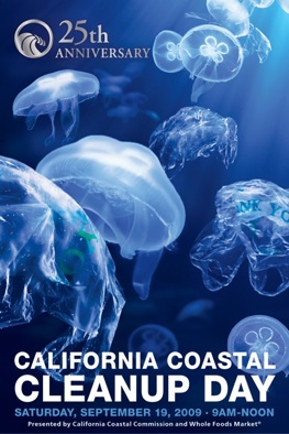 Click on picture to go to the CA Coastal Cleanup Day homepage.