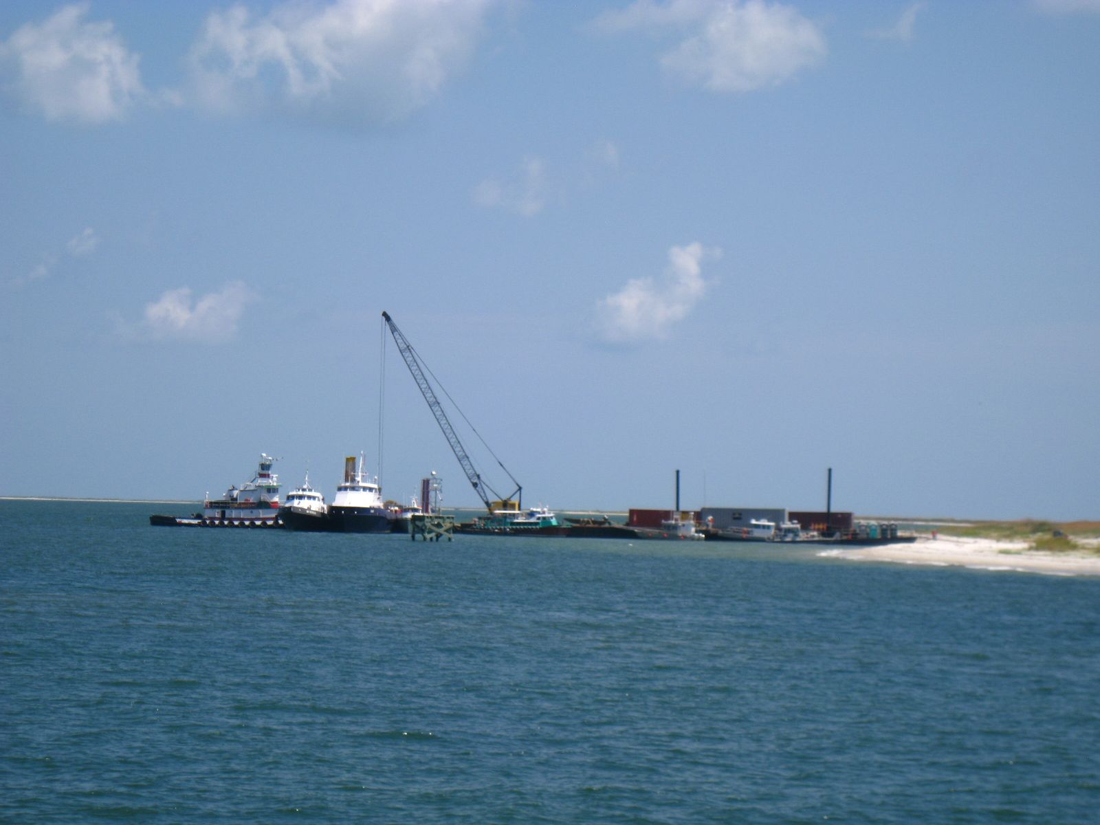 More spill response--Ship that processes the collected/skimmed oil