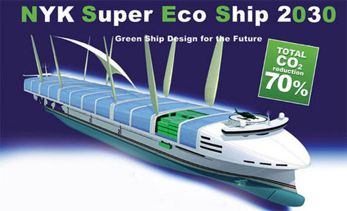 Nyk Super Eco Ship 2030 Deep Sea News