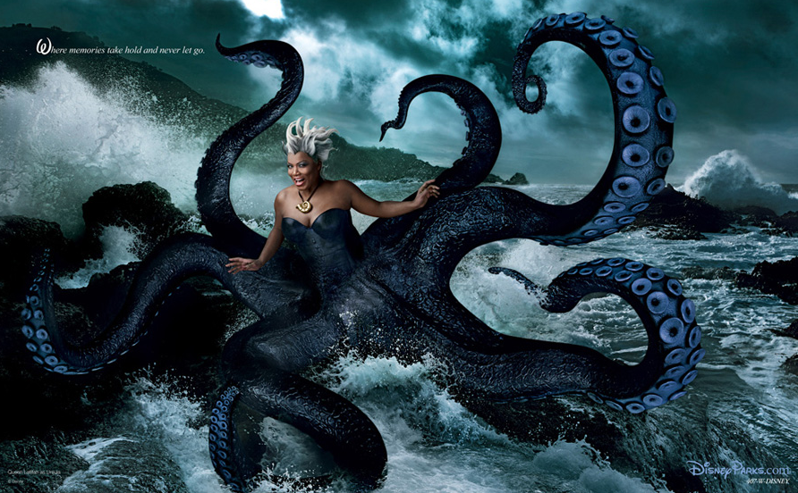 Queen Latifah as Ursula by Annie Leibovitz, 2011