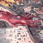 Giant Squid Attacks Town