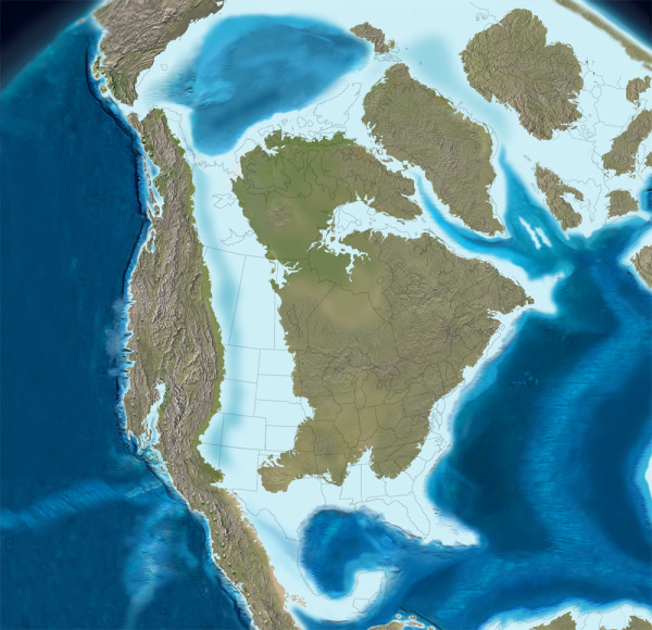 How presidential elections are impacted by a 100 million year old coastline