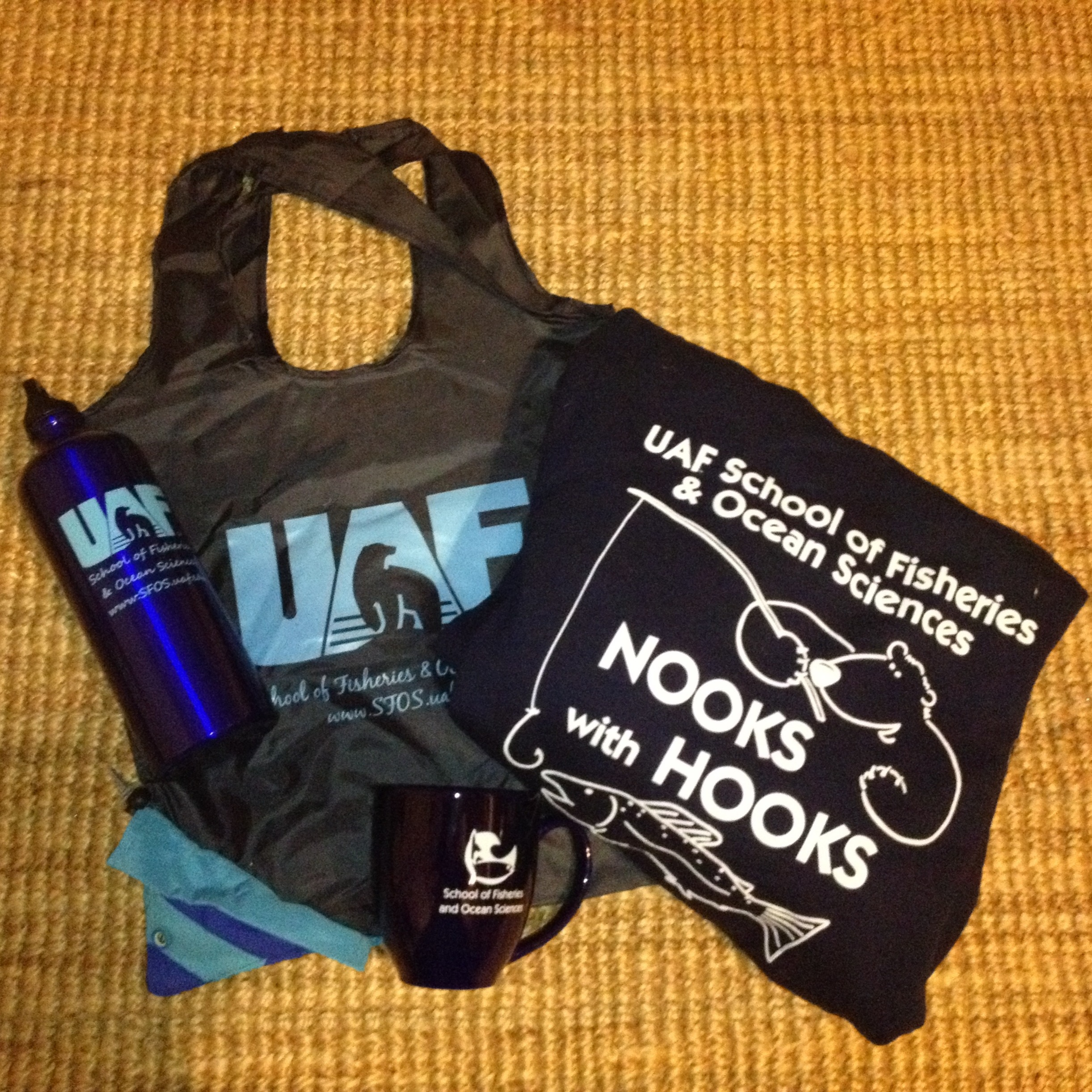 Donate and you can win this UAF prize pack. The sweatshirt alone enables you to see Russia from your house.