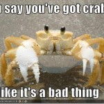 Ain't Nothing but a Green Crab Thang