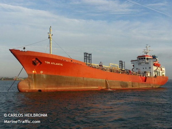 The chemical tanker Atlantic Sun. Img: marinetraffic.com