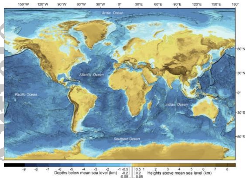 Its time to geek out over a new global bathymetric data set oh the beauty sciox Images