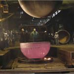 Red Hot Titantium Sphere