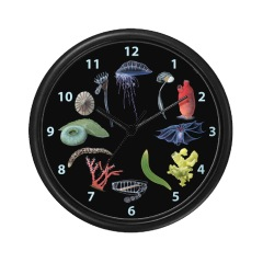 Marine invert clock by Emily Dastra