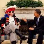 Obama reaches across the Argh-isle