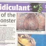 Deep Sea News in London's Metro