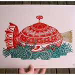 'Ocean Explorer 3000' and Other Beautiful Nautical Woodcuts!