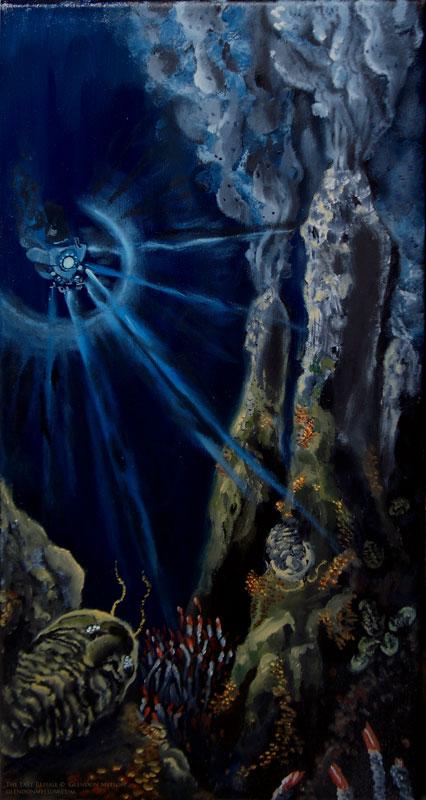 The Last Refuge - Original Art by Glendon Mellow http://glendonmellow.com
