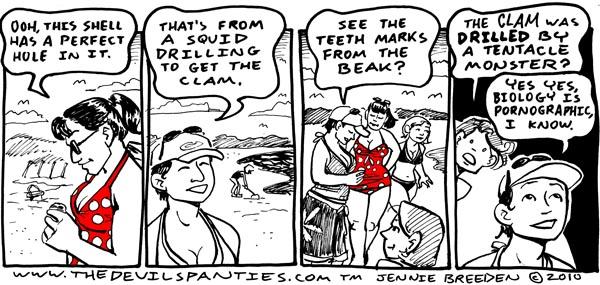 Miriam's Cameo in webcomic The Devil's Panties