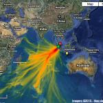 NOAA maps October 25th Indonesian tsunami