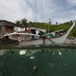 Striking image of plastic pollution in Philippines