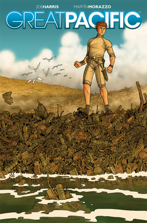 Cover of Great Pacific, via io9