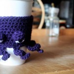 Grumpy Octopus Coffee Cup Cozy