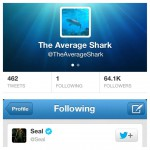 @TheAverageShark only follows one