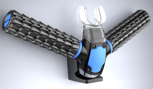 The Triton oxygen mask, designed by Jeabyun Yeon. That or it's my old BMX handlebars