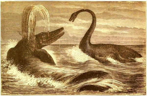 Dinosaur hunters of the Victorian era exhumed what many contemporary 'sea serpents' are modeled after.
