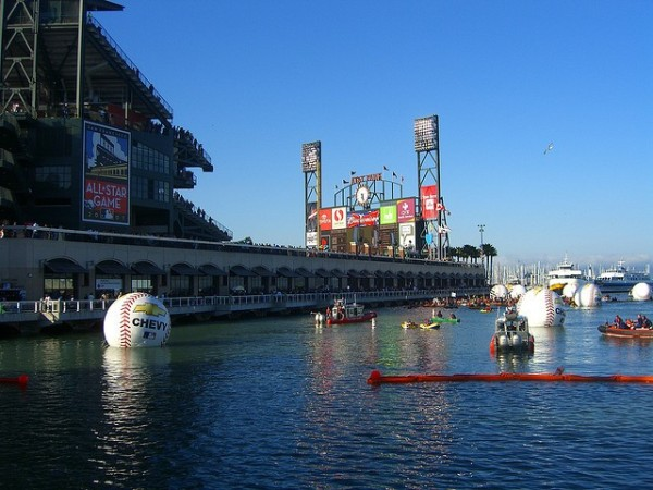 """McCovey Cove"". Photo credit: Eric Molina, flickr"