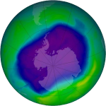 The complex wrath of the Ozone hole over Antarctica