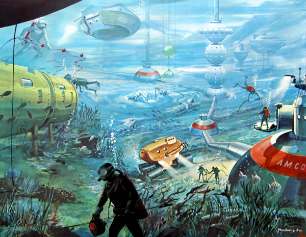 "Klaus Burgle, ""City under the Sea"""