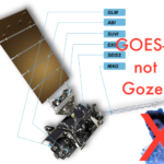 Wherever it GOES, I GOES, we GOES. NOAA and NASA launch another satellite acronym into space.