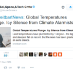 An Alarming Tweet From the House of Representatives Committee on Science, Space, and Technology